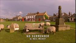 No Surrender title card