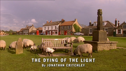 The Dying of the Light title card