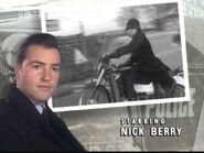 Nick Berry as PC Nick Rowan in the 1995 Opening Titles