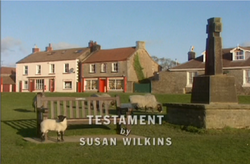 Testament title card