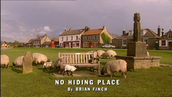 No Hiding Place title card