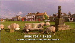 Hung For a Sheep title card