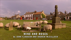 Wine and Roses title card