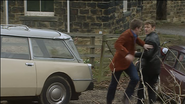 Rob and Phil race to the Police House