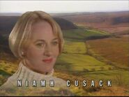 Niamh Cusack as Dr Kate Rowan in the 1993 Opening Titles