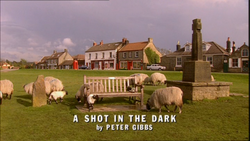 A Shot in the Dark title card