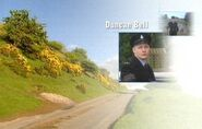 Duncan Bell as Sgt Dennis Merton in the 2004 Opening Titles