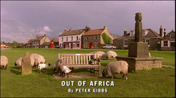 Out of Africa title card