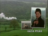 Kazia Pelka as Nurse Maggie Bolton in the 1997 Opening Titles
