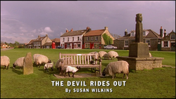 The Devil Rides out title card