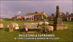 Skeletons and Cupboards title card