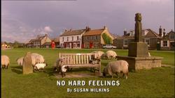 No Hard Feelings title card