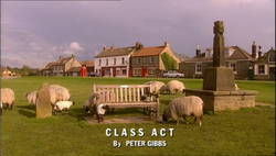 Class Act title card
