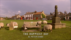 The Happiest Day title card