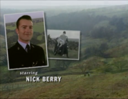 Nick Berry as PC Nick Rowan in the 1997 Opening Titles