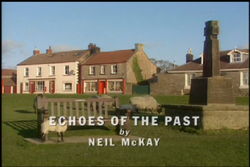 Echoes of the Past title card