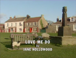 Love Me Do title card
