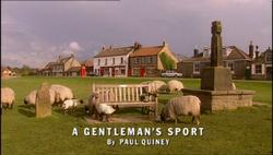 A Gentleman's Sport title card