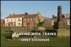Playing with Trains title card