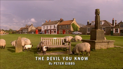 The Devil You Know title card
