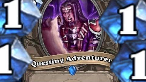Questing Adventurer! - Odd Deck ( Warlock ) Hearthstone Gameplay