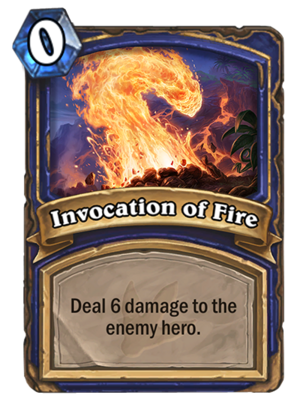 Invocation of Fire