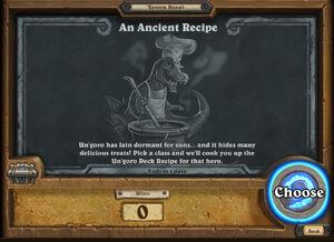 An Ancient Recipe