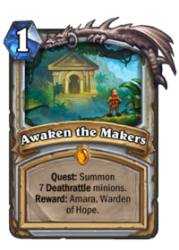 Awaken the Makers