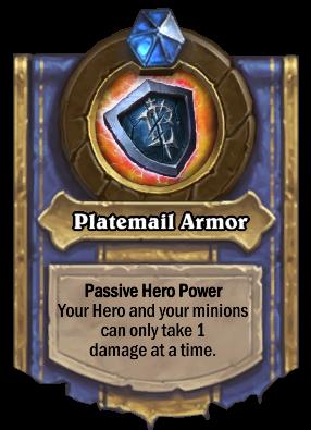 Platemail Armor - heroic