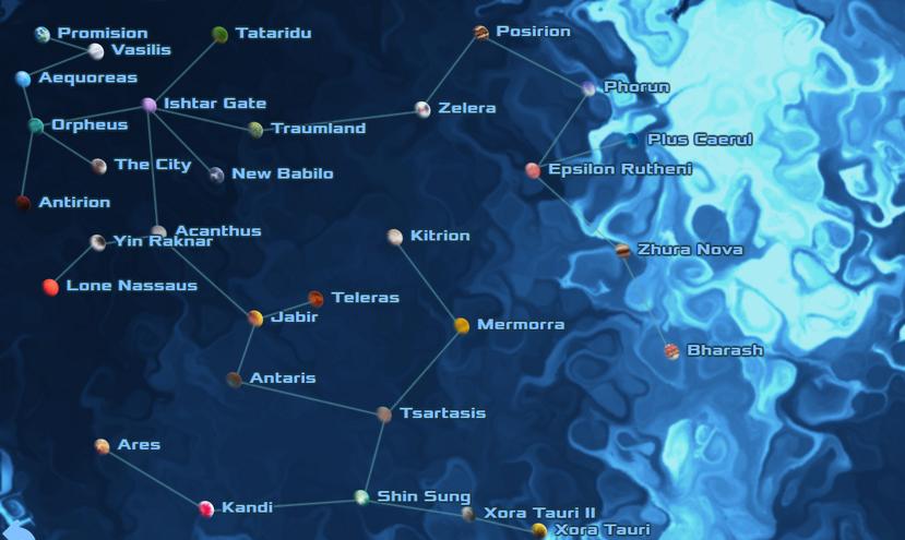 Full Perseus Arm Map