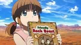 Friendly Rock Beast Girl