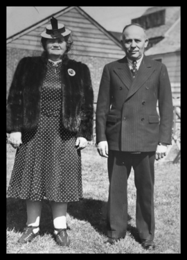 Mae Questel's Mother and Father