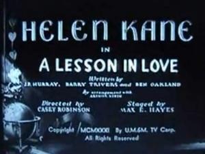 Lesson in love