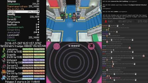 TwitchPlaysPokemon - ( Black 2 ) End game PWT (all 7 battles) ( Chat Included )