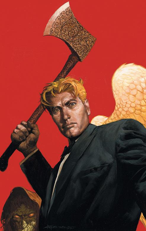 Lucifer Morningstar   John Constantine Hellblazer Wiki ...