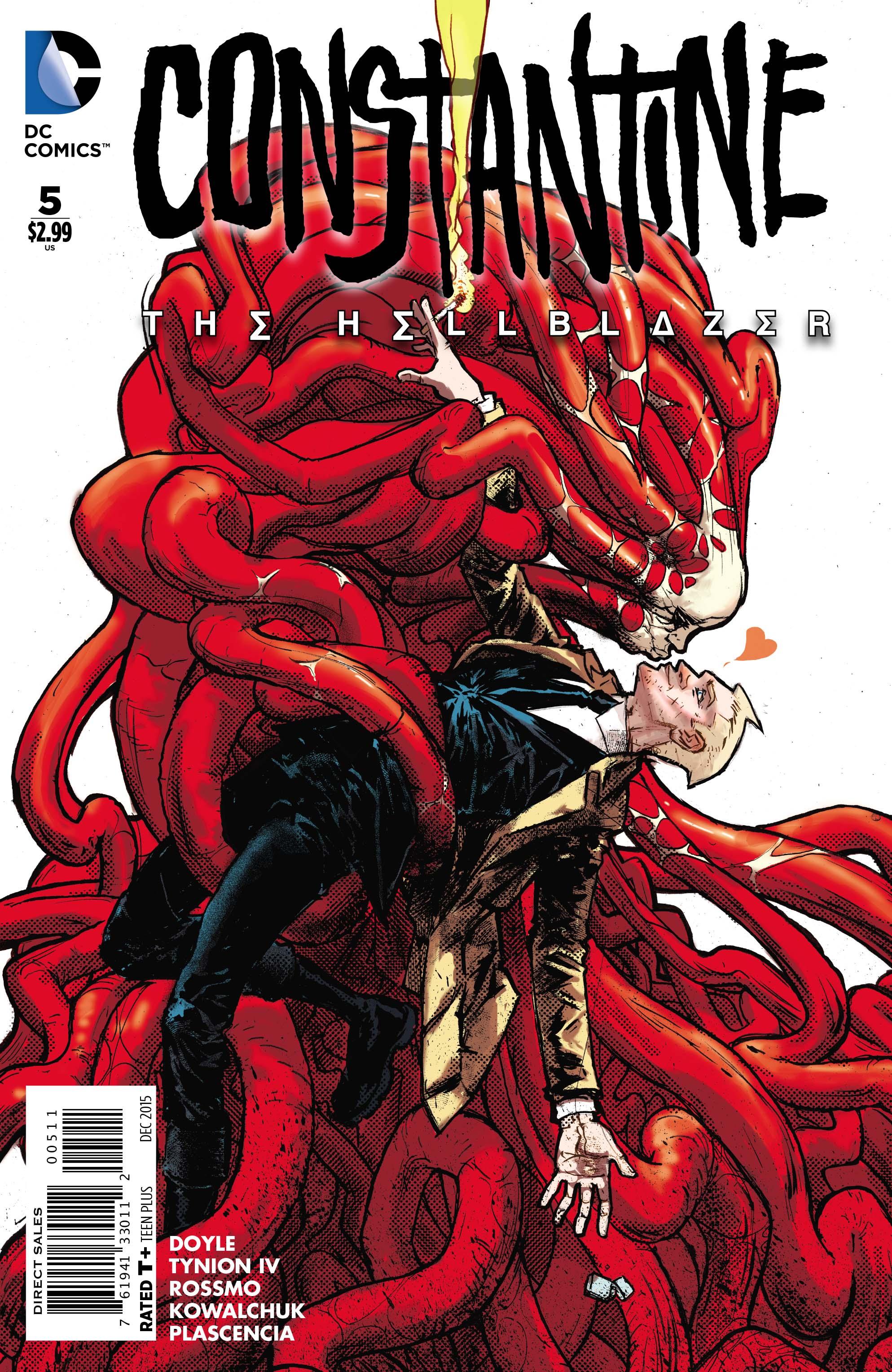 Constantine The Hellblazer Issue 5 John Constantine