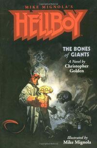 Hellboy - The Bones of Giants (Novel Cover)
