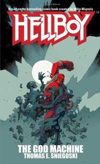 Hellboy - The God Machine (Novel Cover)