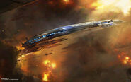 Mass effect 3 normandy sr2 alliance