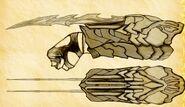 Caden Ferran's Gauntlet Blades