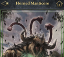 Horned Manticore