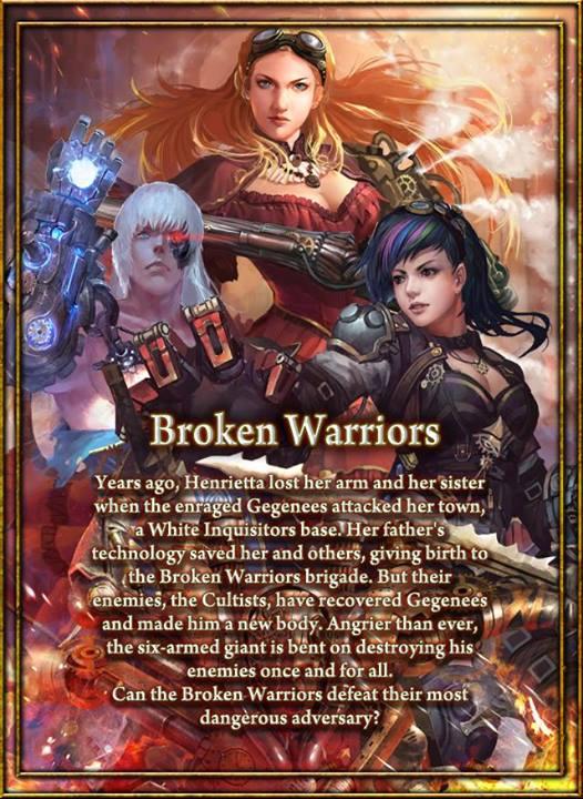 Broken Warriors Main Poster 2