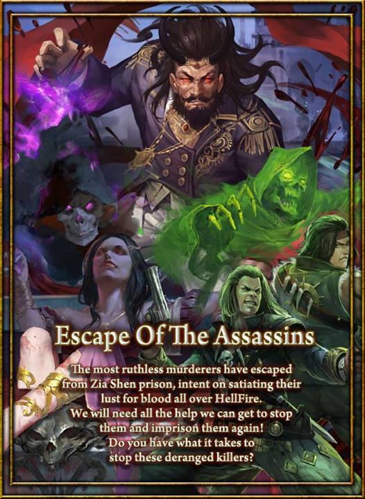 Escape of the Assasins Poster 1