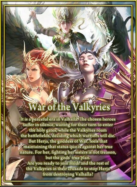 War of the Valkyries Poster 2