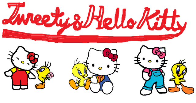 File:Sanrio Characters Tweety Hello Kitty Image015.png
