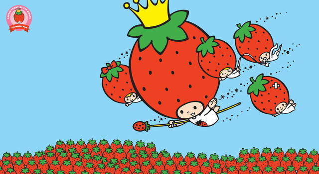 File:Sanrio Characters Strawberry King--Candy (Strawberry King)--Crybaby--Stinky--Tuffy Image001.jpeg