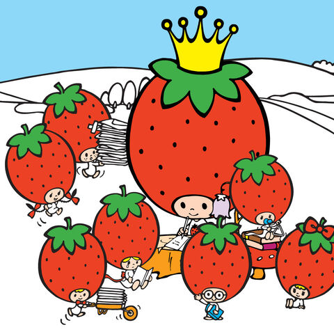 File:Sanrio Characters Strawberry King--Tuffy--Tommy--Dandy--Crybaby--Socrates--Stinky--Candy (Strawberry King) Image001.jpg
