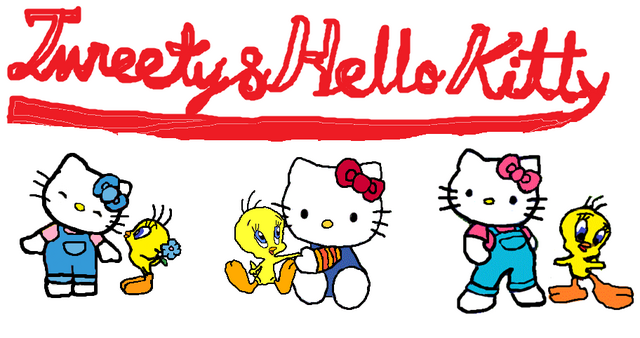 File:Sanrio Characters Tweety Hello Kitty Image014.png