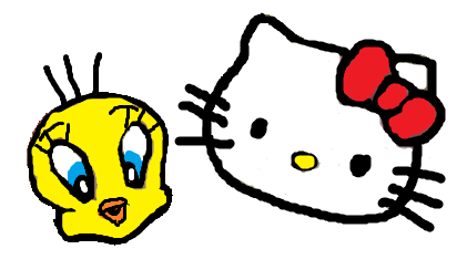 File:Sanrio Characters Tweety Hello Kitty Image012.png