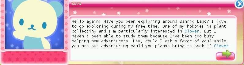 2 HKO Sora quest02 bring clover